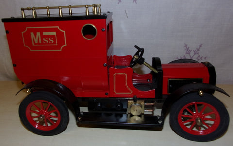 Unusual Large Scale Live Steam Powered Vintage Style Delivery Van