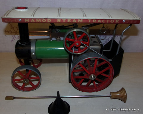 Used 1970's Mamod TE1a Live Steam Traction Engine