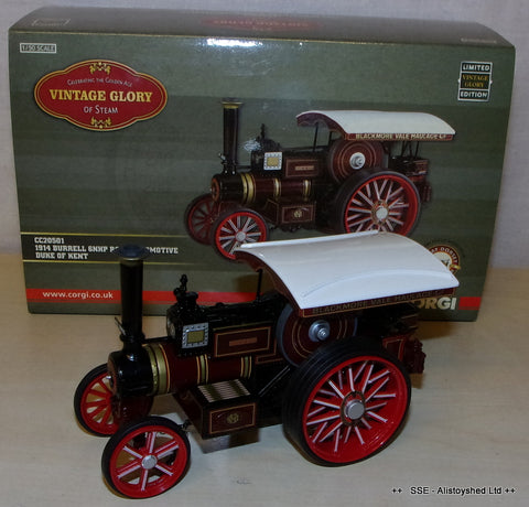 Corgi Vintage Glory Burrell Road Locomotive Traction Engine