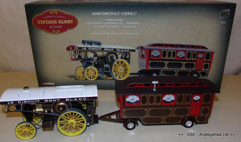 "Corgi 80110 Fowler B6 Showmans Engine ""Onward""  and Caravan"
