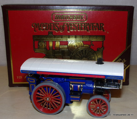 Matchbox Yesteryear Y-19   Model Fowler Showmans Steam Engine