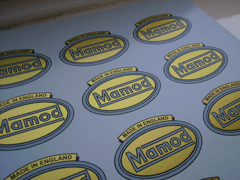 Waterslide Blue Oval Mamod Decal 1946 - 53
