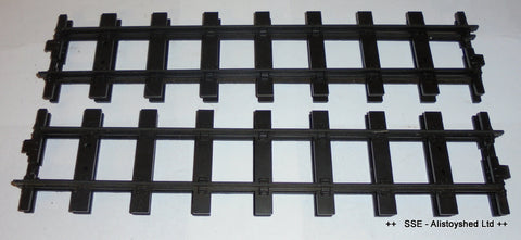 4 Pieces of Straight Mamod O Gauge Railway Track Good Pre Owned Condition
