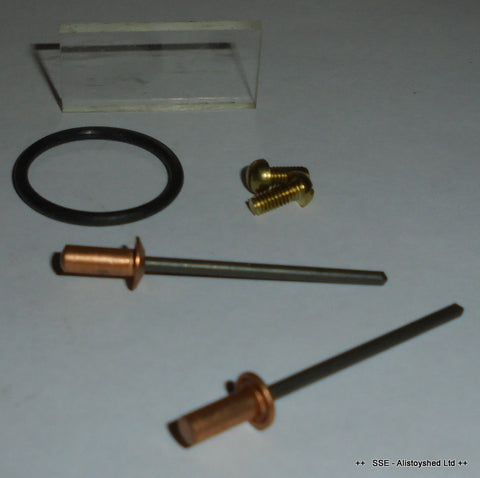 Sight Glass Overhaul Repair Kit For Later Mamod Live Steam Engine Models