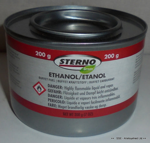 Trade Pack 12 Tins Of Sterno Fuel Gel Ideal For Mamod & Other Live Steam Engine Models
