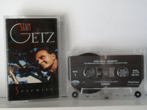 "Getz, Stan - ""Serenity"" (1991) [double-play] [Chrome Tape] - Mint"