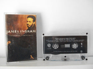 "Ingram, James - ""Greatest Hits: The Power of Great Music"" (1991) - Mint"