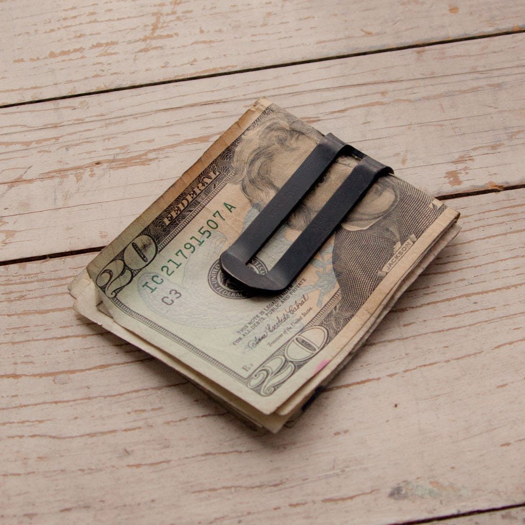 Money Clip - Matte Black Oxide