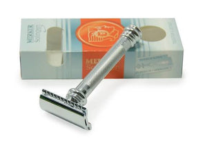 Merkur 38C Long Handle Barber Pole