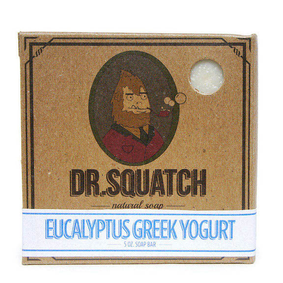 Dr. Squatch Eucalyptus Greek Yogurt