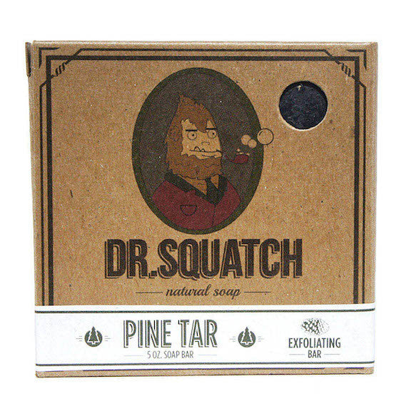 Dr. Squatch Pine Tar - all natural soap