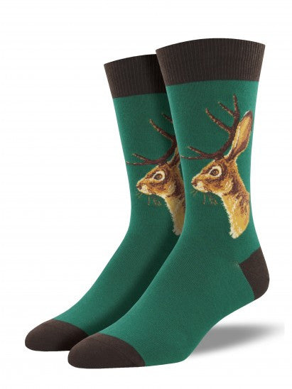 Men's Jackalope socks by Socksmith