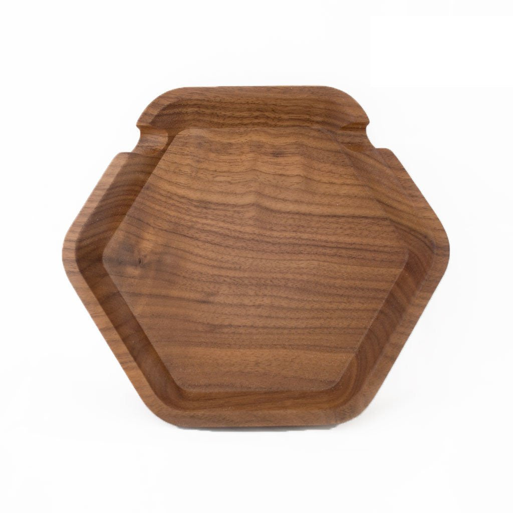 Catch All - Solid Walnut