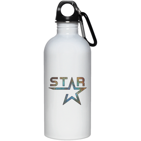 23663 Galaxy Star 20 oz. Stainless Steel Water Bottle