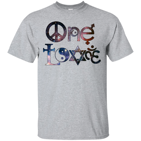 Men T-Shirts One Love Stars