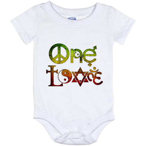 Baby Rasta One Love Onesie 12 Month