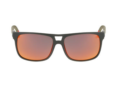 ROADBLOCK - Matte Magnet Grey H2O with Polarized Red Ionized Lens