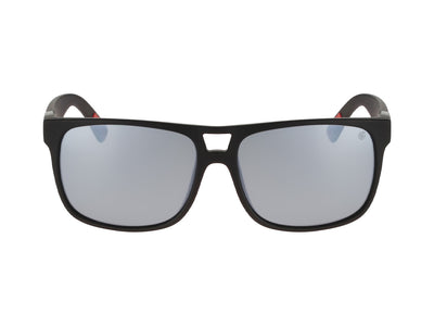 ROADBLOCK - Matte Black H2O ; with Polarized Silver Ionized Lens
