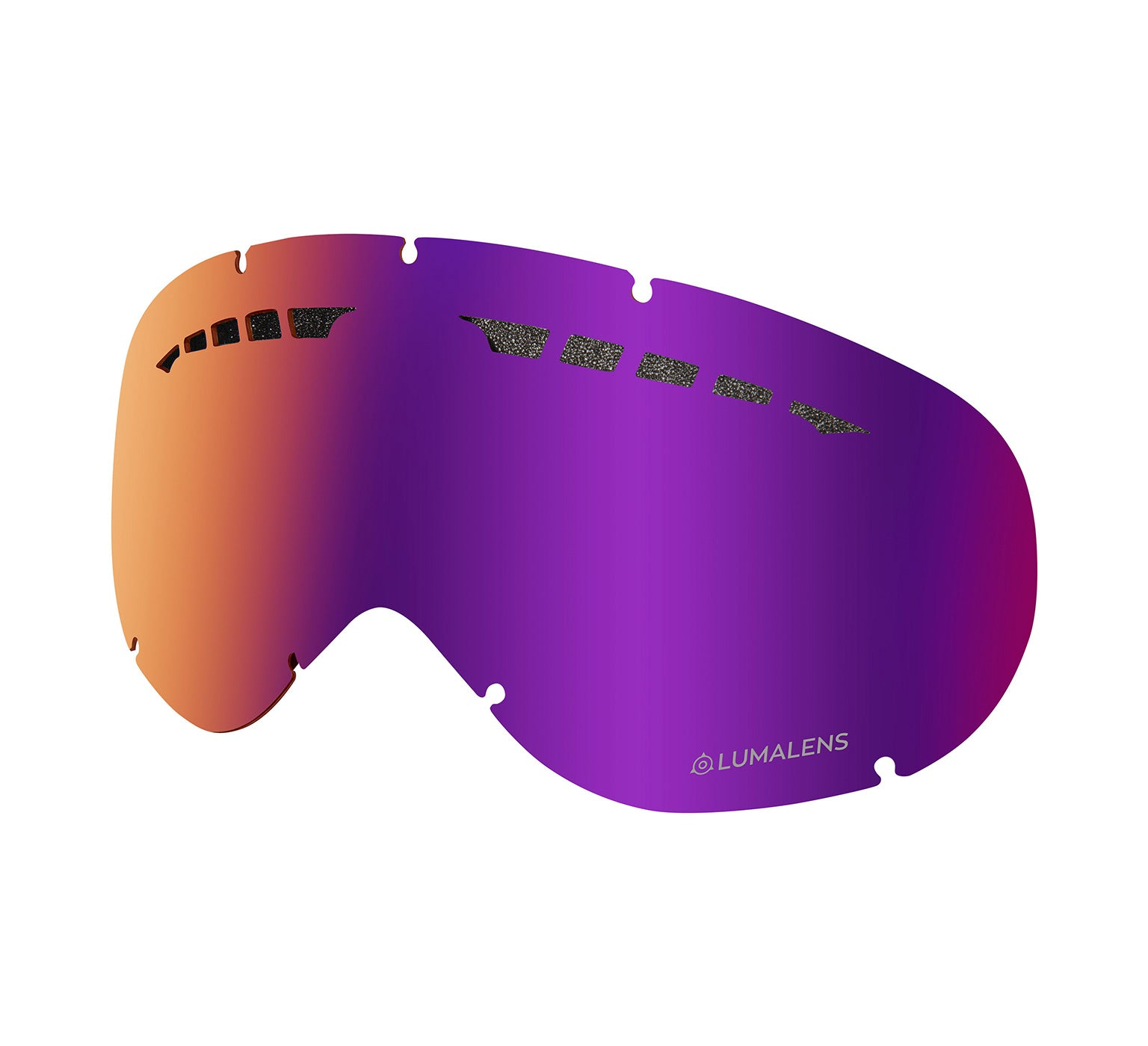 DX Replacement Lens ; Lumalens Purple Ionized