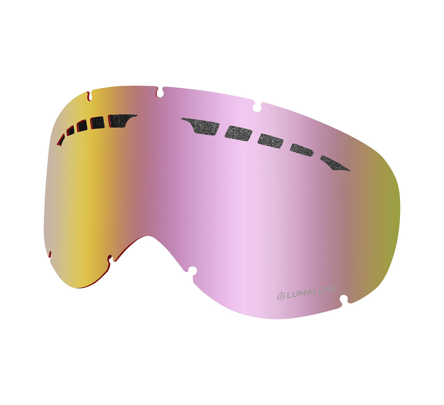 DXs Replacement Lens ; Lumalens Pink Ionized