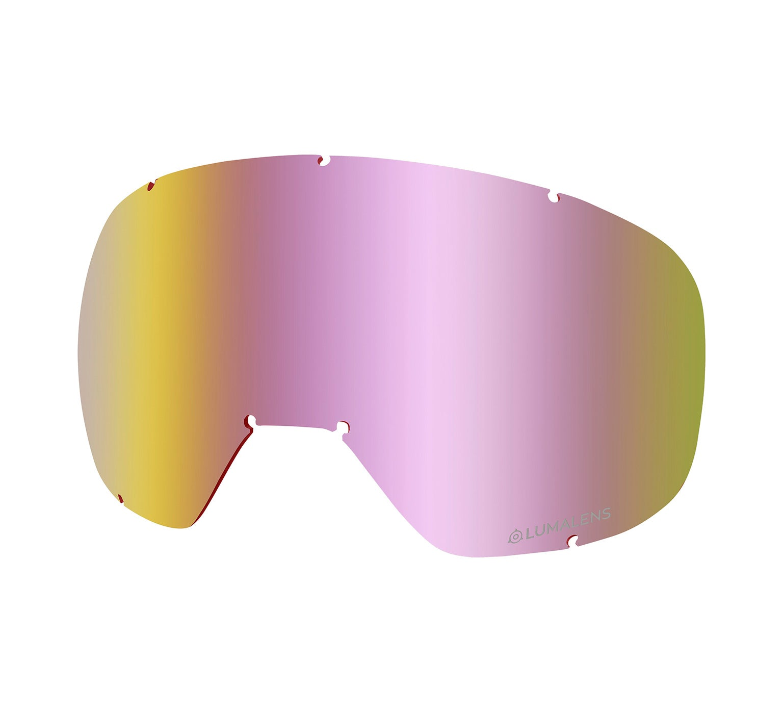 D3 OTG Replacement Lens ; Lumalens Pink Ionized