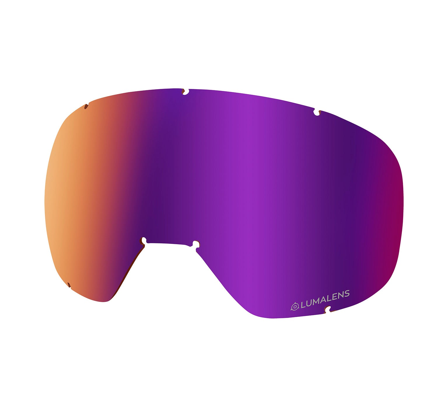 D3 OTG Replacement Lens ; Lumalens Purple Ionized