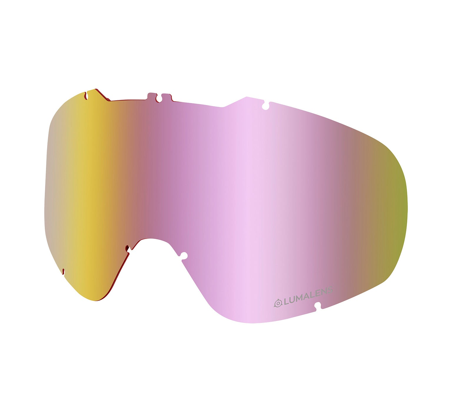 DX2 Replacement Lens ; Lumalens Pink Ionized