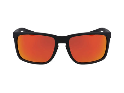 MELEE - Matte Black ; with Orange Ionized Lens
