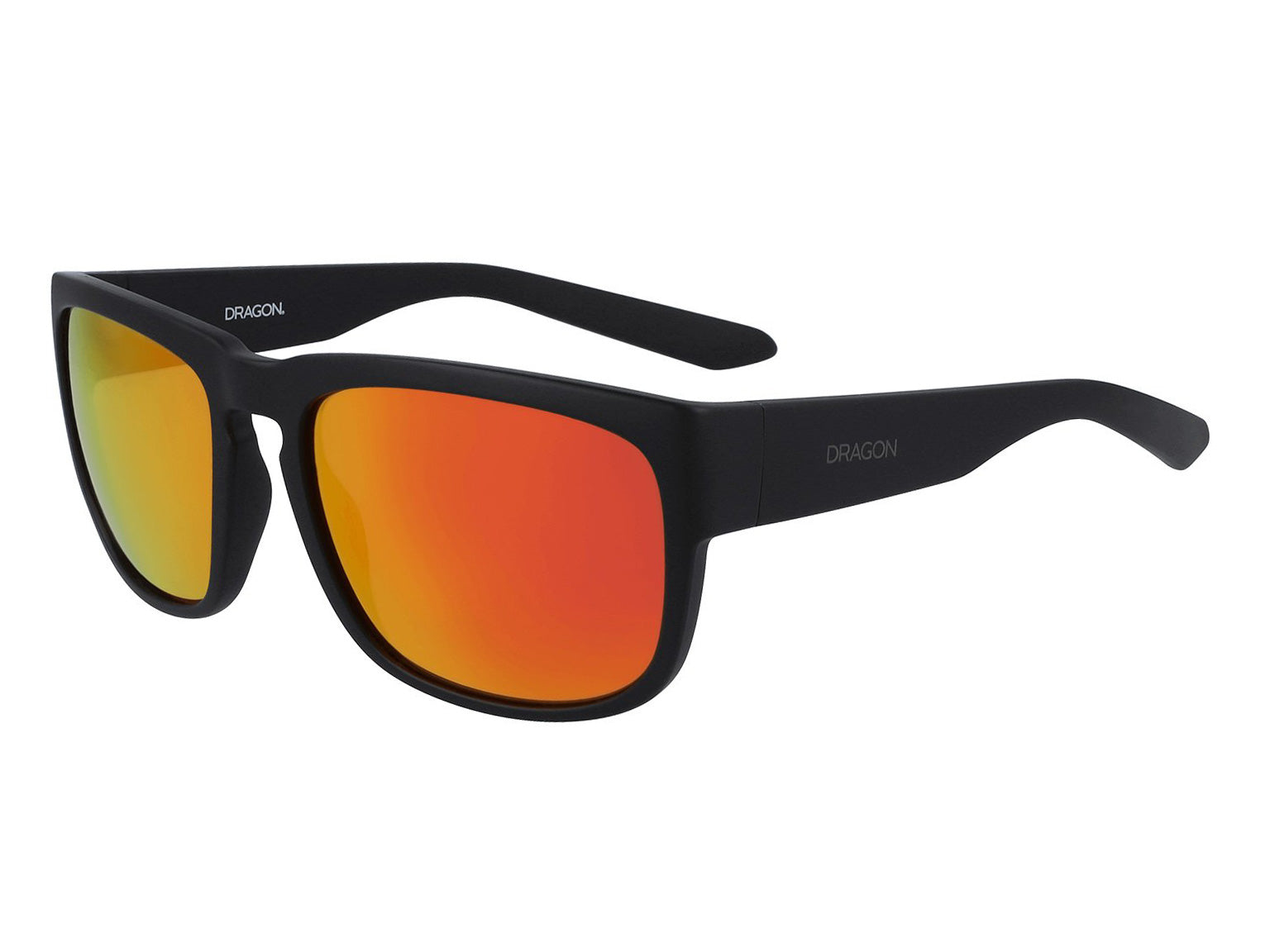 RUNE - Matte Black ; with Orange Ionized Lens