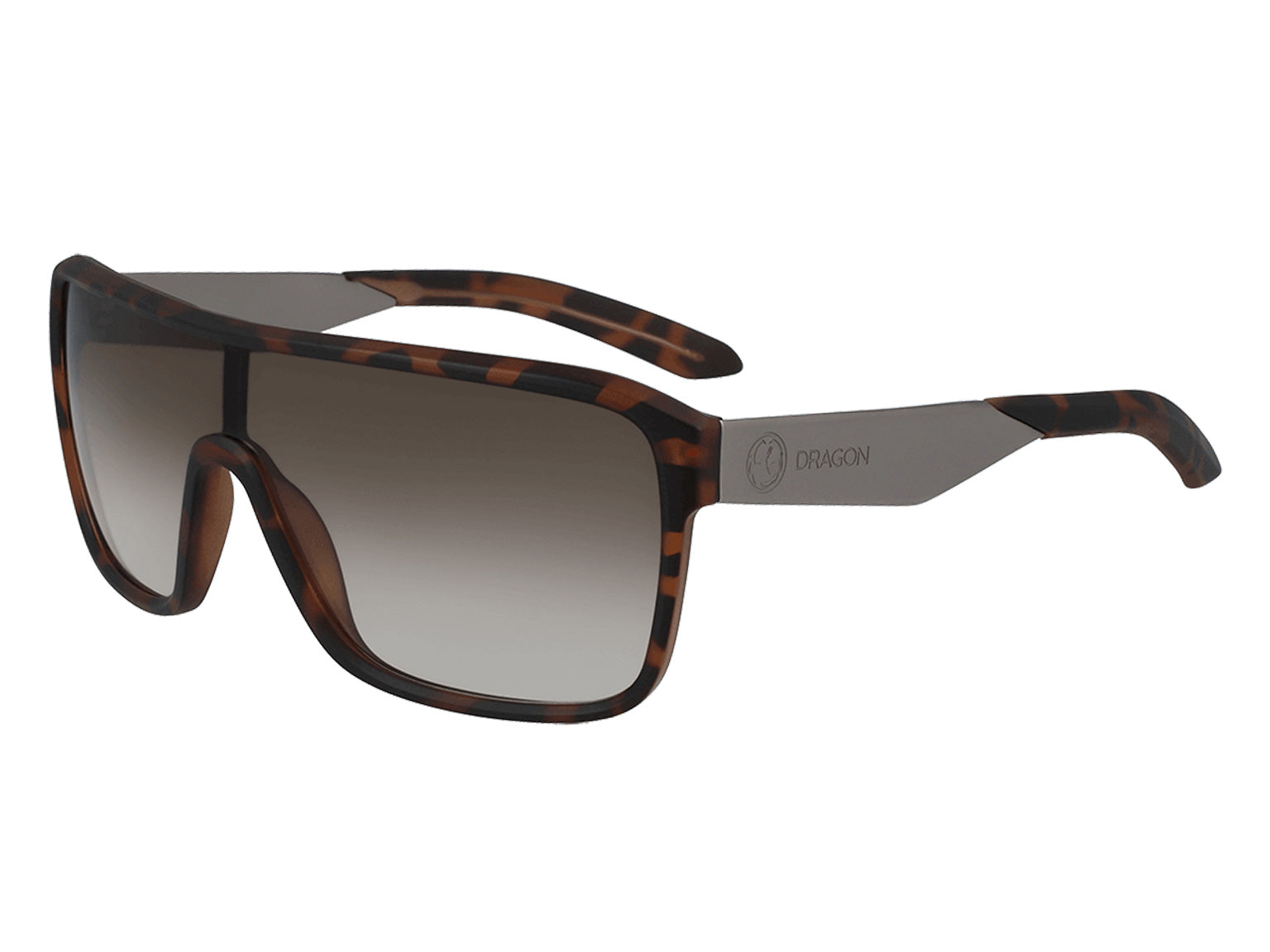 AMP - Matte Tortoise ; with Lumalens Brown Gradient Lens