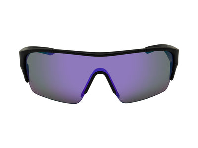 TRACER X - Matte Black ; with Lumalens Violet Ionized & Lumalens Solid Brown Lens