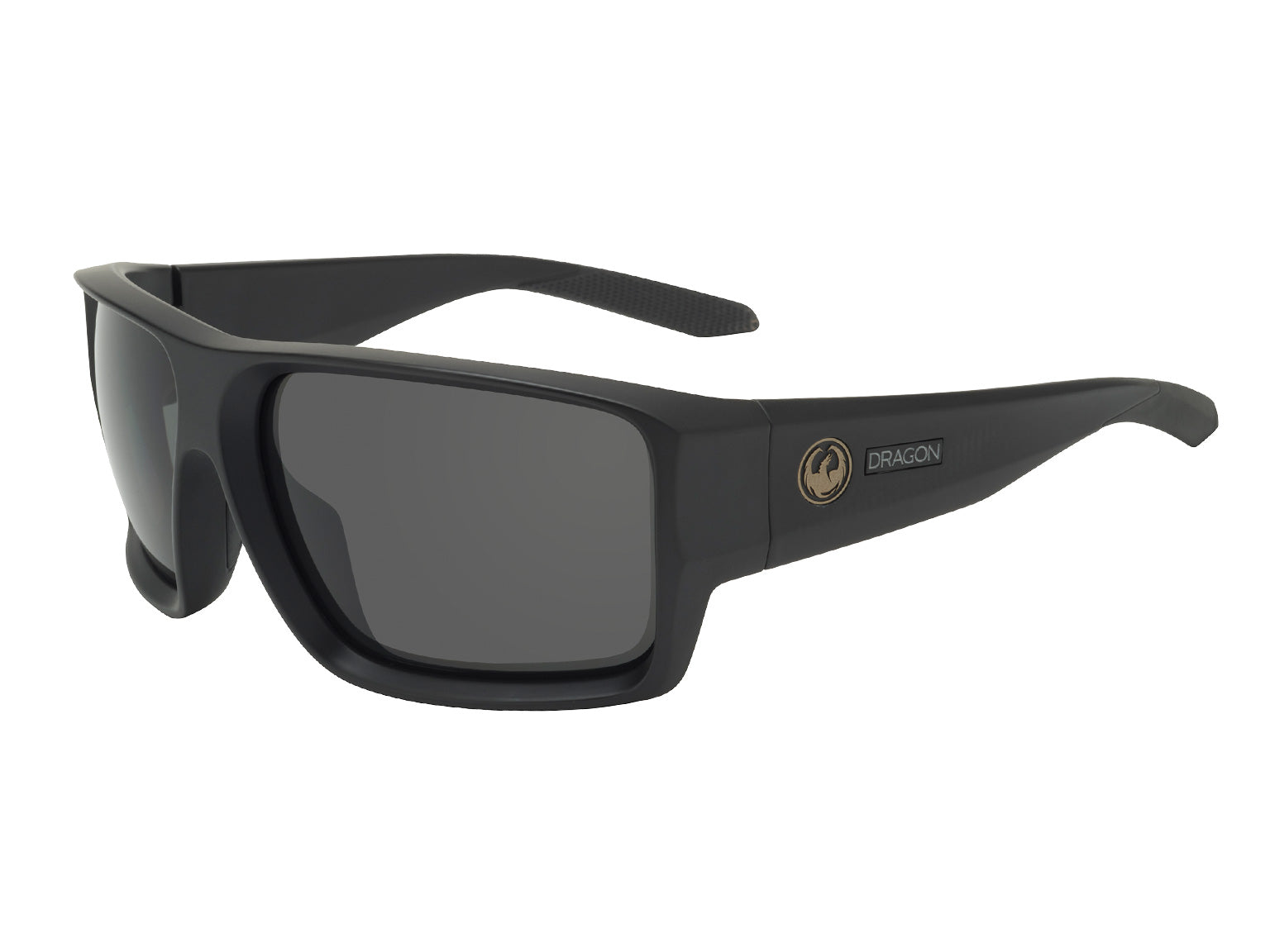 FREED - Matte Black with Polarized Lumalens Smoke Lens