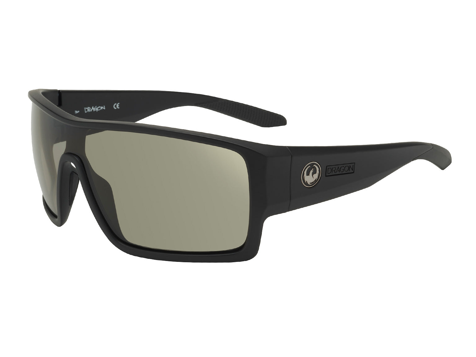 FLASH - Matte Black ; with Polarized Lumalens Smoke Lens