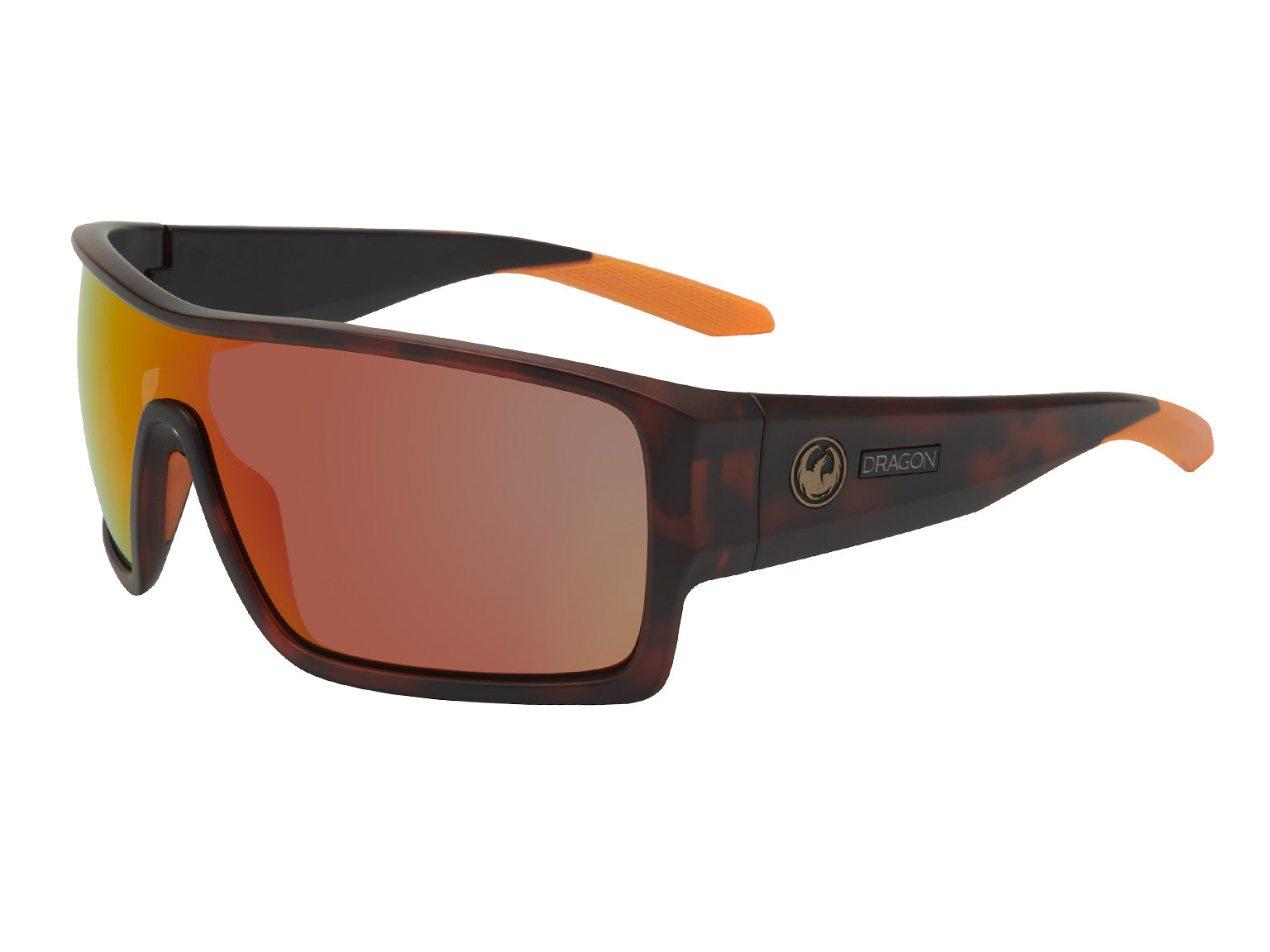 FLASH - Matte Dark Tortoise with Lumalens Orange Ionized Lens