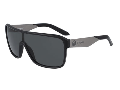 AMP - Matte Black ; with Polarized Lumalens Smoke Lens