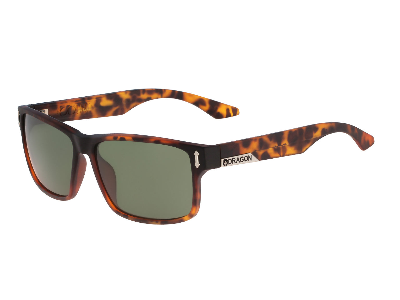 COUNT - Matte Tortoise with Lumalens G15 Green Lens