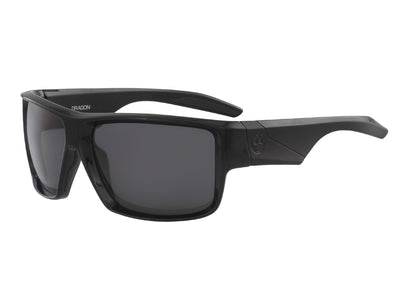 DEADLOCK - Shiny Black with Polarized Lumalens Smoke Lens