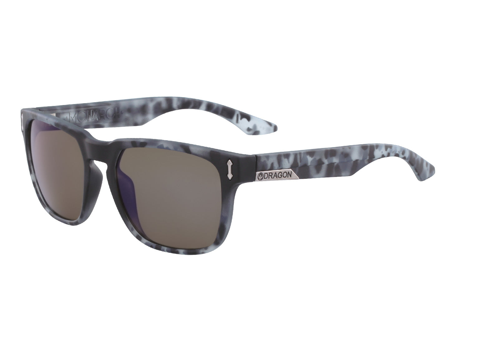 MONARCH - Matte Midnight Tortoise ; with Lumalens Blue Ionized Lens
