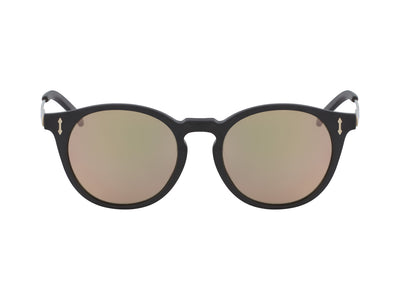 HYPE - Matte Black with Lumalens Rose Gold Ionized Lens