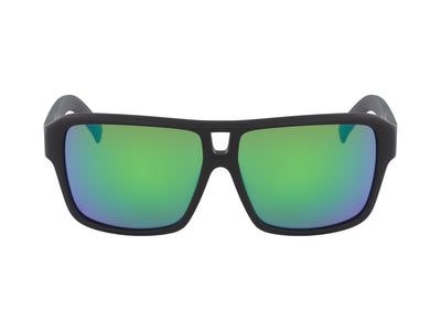THE JAM - Matte Black ; with Lumalens Green Ionized Lens