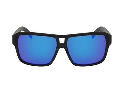 THE JAM - Matte Black H2O ; with Polarized Lumalens Blue Ionized Lens