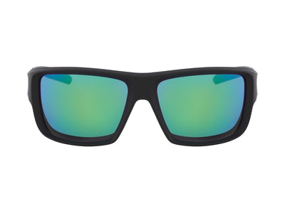 DEADLOCK - Matte Black ; with Lumalens Green Ionized Lens