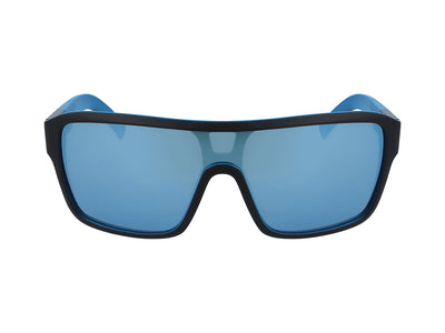 REMIX - Matte Black with Lumalens Sky Blue Ionized Lens