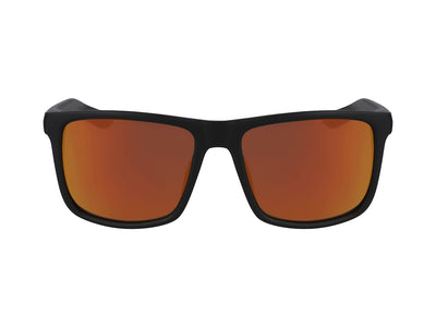 MERIDIEN - Matte Black with Lumalens Orange Ionized Lens