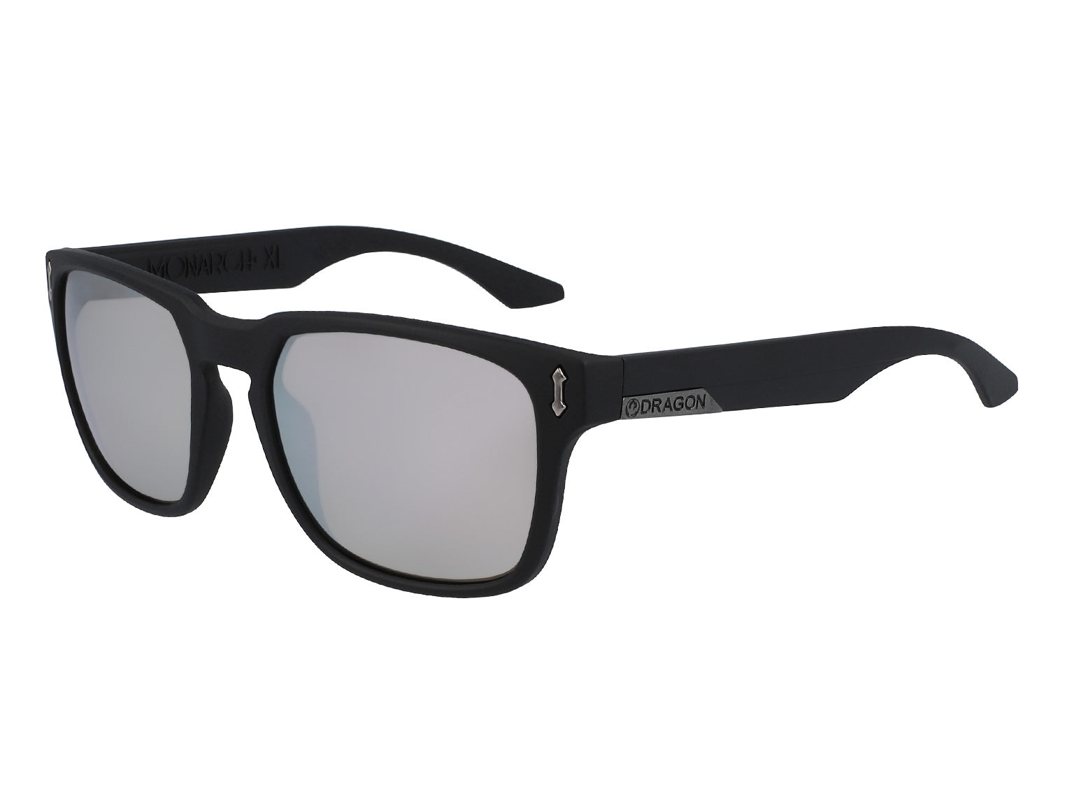 MONARCH XL - Matte Black ; with Lumalens Silver Ionized Lens