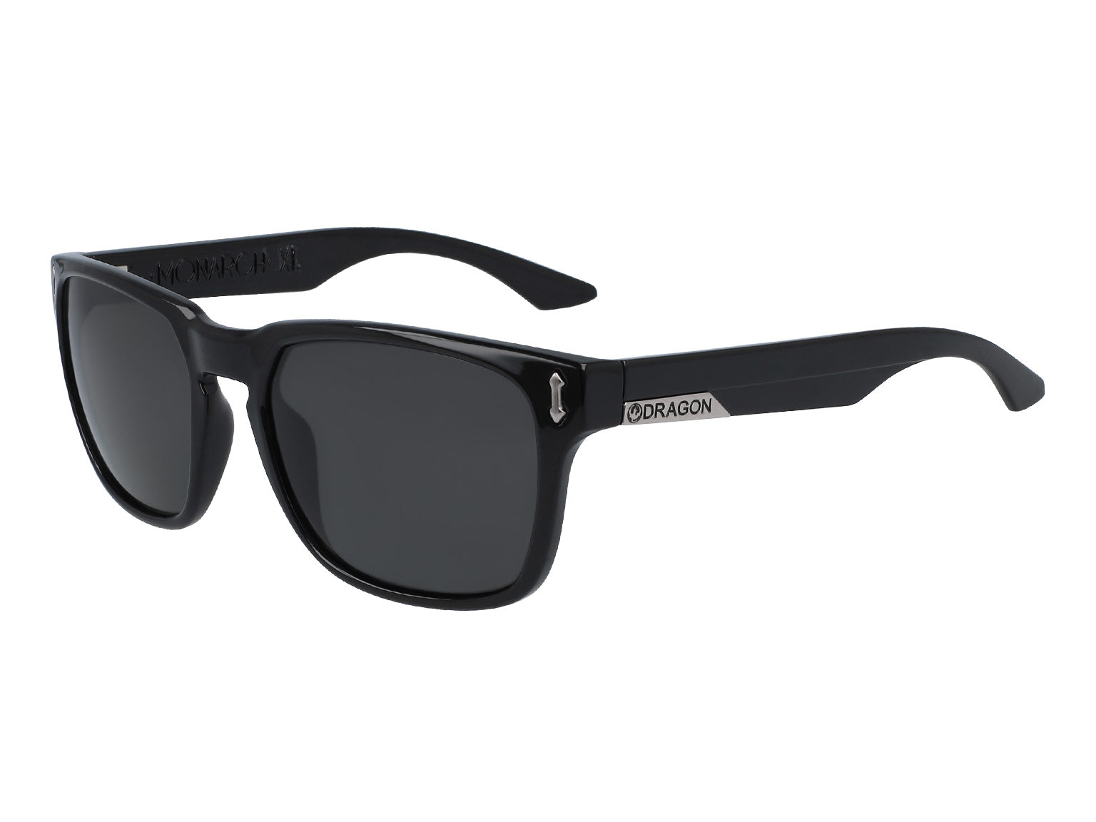 MONARCH XL - Jet with Polarized Lumalens Smoke Lens
