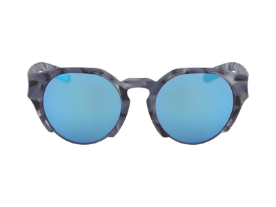 COMPASS - Matte Midnight Tortoise ; with Lumalens Blue Ionized Lens
