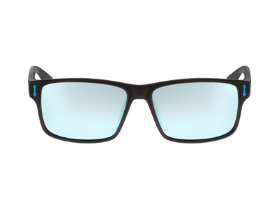 COUNT - Matte Black H2O ; with Polarized Lumalens Sky Blue Ionized Lens