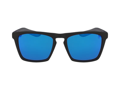 DRAC - Matte Black H2O ; with Polarized Lumalens Blue Ionized Lens