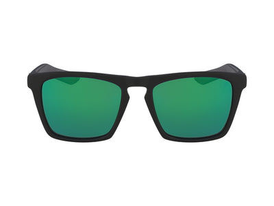 DRAC - Matte Black H2O ; with Polarized Lumalens Green Ionized Lens